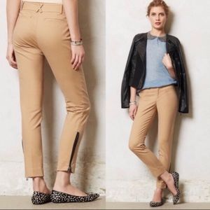 Anthropologie Cartonnier Charlie Zip Ankle Pant 6